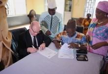 L'Agence Nationale de Financement des Collectivités Locales (ANAFIC) et L'Institut français de Guinée ont signé un accord de partenariat en présence des élus