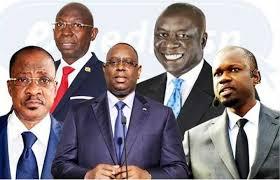 Les 5 candidats de la présidentielle sénégalaise de 2019