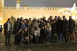 Les bénéficiaires de la Bourse RUSAL 2018 à Moscou