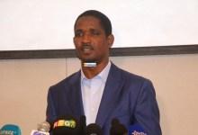 Mouctar Diallo, ministre de la jeunesse