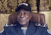 Ousmane Fofana, commissaire du commissariat urbain de Labé