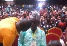 Paul Moussa Diawara, accusé de détournement de fonds soutient un 3e mandat lors d'un meeting de la mouvance présidentielle