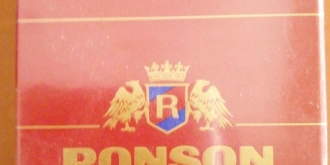 La cigarette Ronson