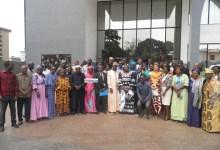 Photo de famille lors de l'atelier de validation du plan stratégique nationale pour la promotion de l'abandon des MGF