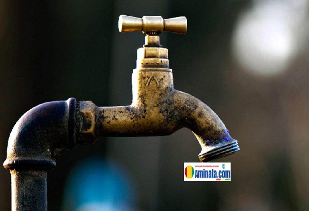 Trouver de l'eau dans le robinet est un calvaire dans plusieurs localités de la Guinée