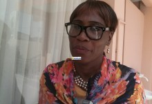 Biliga Koivogui, présidente du Comité de pilotage du partenariat national de l'eau de Guinée PNEGUI