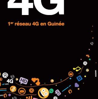 La 4G d'Orange Guinée