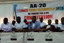 Les membres de la plate-forme dénommée Alliance pour l'Alternance en 2020 (AA-20)