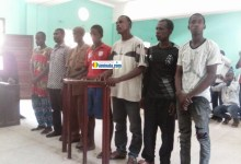 Les sept jeunes opposants au 3e mandat arrêtés à Kindia viennent d'être libérés par la justice
