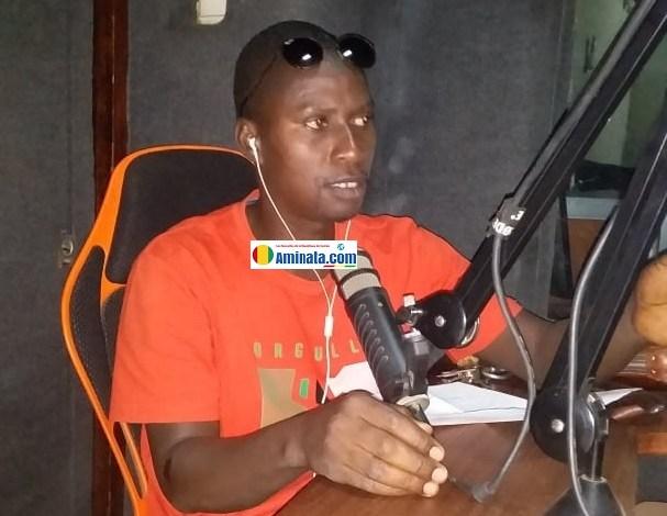 Mouminy Diallo, Président de l'Amicale des Jeunes pour la Sauvegarde de l'Enfance et de l'Adolescence (AJSEA)