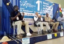 Yéro Baldé, ministre de l'enseignement supérieur, un des panélistes du forum numérique du Foutah