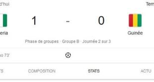 Le Nigeria bat la Guinée lors de la deuxième journée de la CAN2019