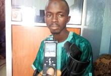 Thierno Saliou Keïta, secrétaire administratif de l'association des drepanocytaires de Guinée