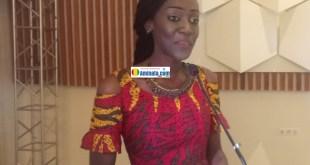L'écrivaine Maimouna Camara auteure du roman « Tant que le soleil brillera… »