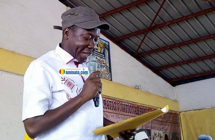 Le député Aly Kaba, député membre da la majorité parlementaire