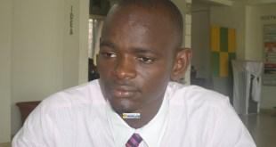 Le journaliste Ibrahim Kalil Diallo, Président du Collectif des jeunes démocrates de Guinée (CJDG)