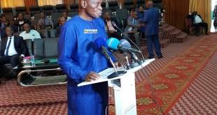 Mamadi Camara, Ministre de l'économie et des finances