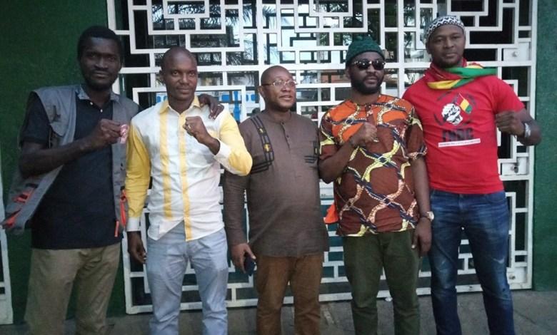Sékou Koundouno, Ibrahima Diallo, Me Salifou Béavogui Foniké Menguè devant la DPJ