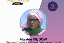 Aissatou Billy Sow, chercheuse-consultane en Genre et Développement Durable