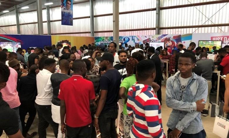 Des jeunes participants à l'édition UBAmarketplace2019