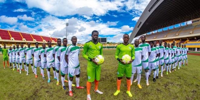 Des joueurs du club Hafia FC