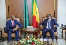 Tony Elumelu avec le Président Macky Sall