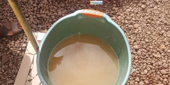 De l'eau impropre à la consommation coule des robinets de la SEG
