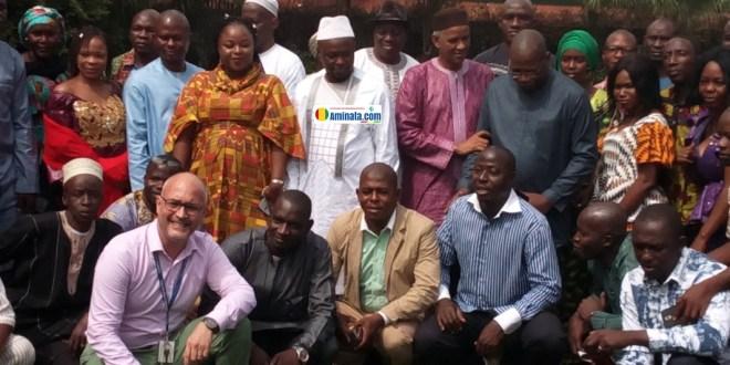 Des membres du consortium ACCORD-Guinée, WANEP, RAJ-GUI finalisent le projet pour la consolidation de la paix