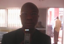Sidiki Kouyaté, proviseur du lycée Ahmed Sékou Touré