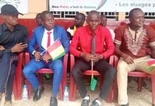 Quelques membres du Collectif des jeunes démocrates de Guinée (CJDG)