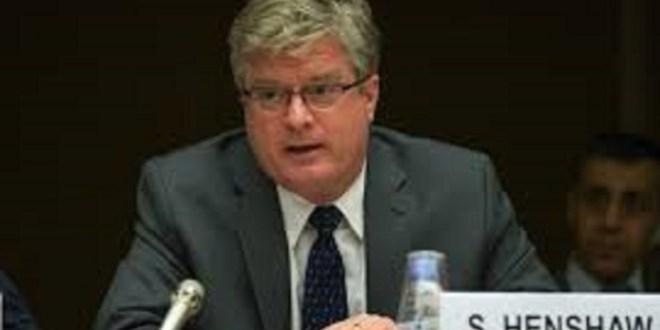 Simon Henshaw, ambassadeur des Etats-unis à Conakry