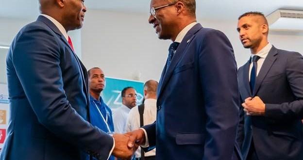 Tony O. Elumelu, Promoteur de la Fondation Tony Elumelu et Président du Conseil d'Administration de UBA avec S.E. José Ulisses de Pina Correia e Silva, Premier ministre du Cap-Vert