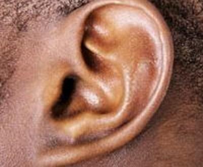 Une oreille (image d'illustration)