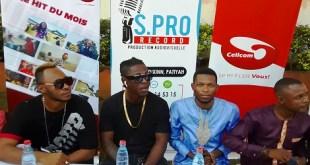 Des artistes accompagnés par Cellcom Guinée