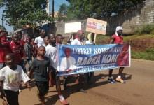 Des manifestants réclament la libération de Badra Koné