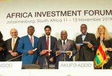 Panel lors de l'Africa Investment Forum 2019