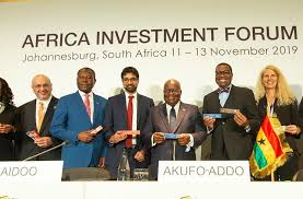 Panel lors de l'Africa Investment Forum 2019