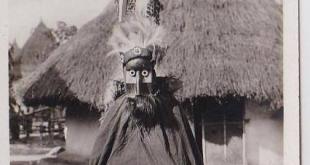 Un masque Kpèlè