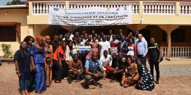 Atelier d'idéation et de créativité dans la commune urbaine de Kindia