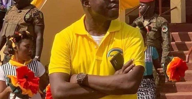 Youssouf Sampil, ressortissant de Boké à Conakry et président du Mouvement Ma Guinée c'est Possible