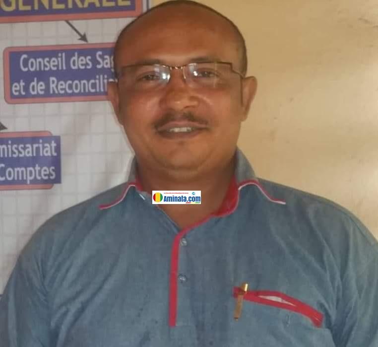 Chérif Abdallah, Président du Groupe organisé des hommes d'affaires