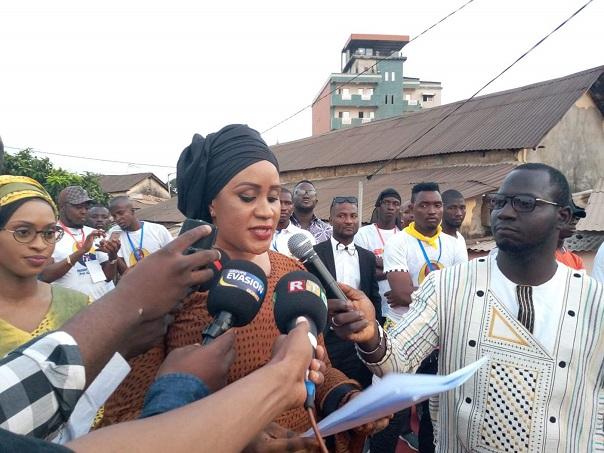 Ramatoulaye Camara, cheffe du cabinet du ministère de la jeunesse et de l'emploi