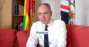 Son excellence David MCILROY, Ambassadeur du Royaume-Uni en Guinée