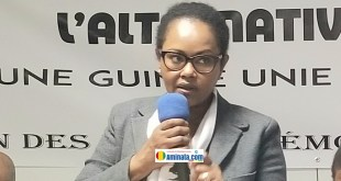 Hadiatou Djinkan Diallo de l'UFDG-France