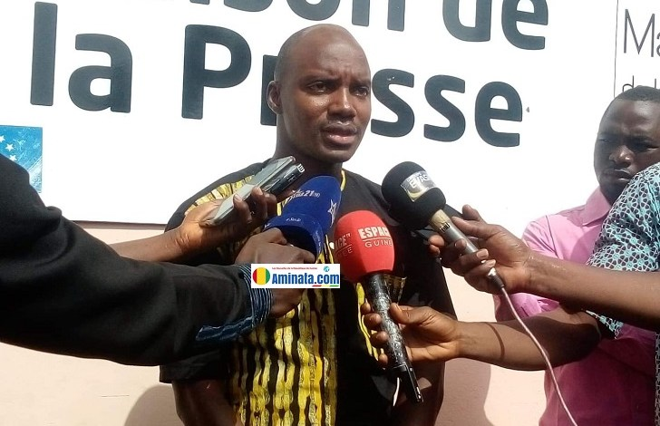 Ibrahima Diallo, chargé des opérations du Front national pour la défense de la constitution (FNDC)