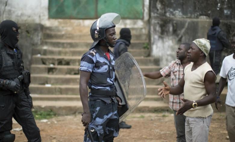 violence postelectoral à Lelouma Guinee