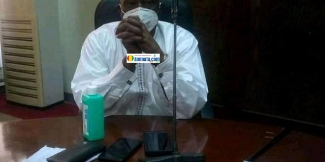 Amadou Damaro Camara, président de l'Assemblée nationale