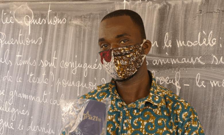 Un enseignant de Franco-arabe