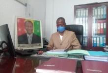 Patrice Pépé Loua, Directeur général de la Société des eaux de Guinée (SEG)