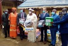 Remise d'un important lot de kits hygiéniques et matériels sanitaires divers au ministère de l'action sociale